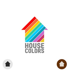 House paint logo vector