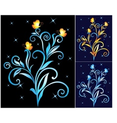 Beautiful decorative flower vector