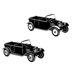 Retro car of 1920-1930 year vector