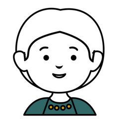 Little boy avatar character vector