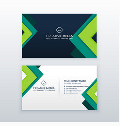 Elegant business card design for your profession vector