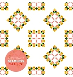 Colorful seamless geometric pattern modern vector