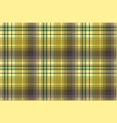 Green abstract check plaid seamless pattern vector