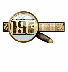 calendar 2009 banner vector image