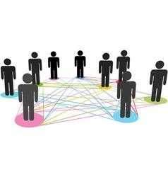 Social business vector