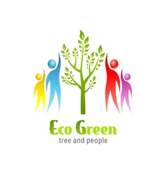Eco green icon vector
