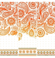 Beautiful vintage ornament vector image vector image