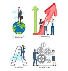 International business on vector