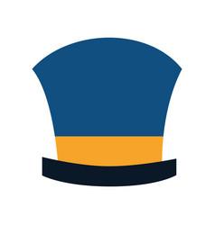 magician hat wear vector image vector image