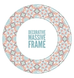 ornate frame in Victorian style Decorative vector image vector image
