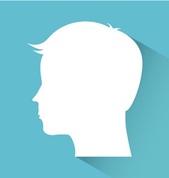 Profile design vector