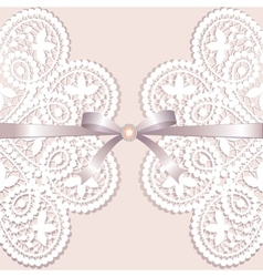 Lace with tape vector