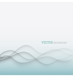 Elegant waves background vector