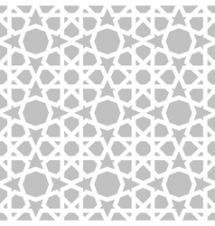 Moroccan pattern eastern traditional style vector