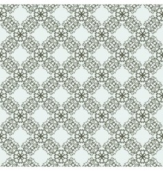 East seamless two-tone pattern with curls vector