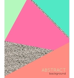 Abstact background in retro 80s style vector