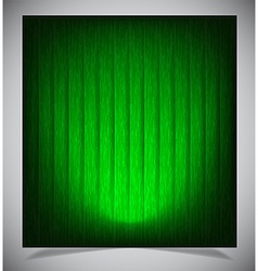 Abstract green wood background vector image vector image