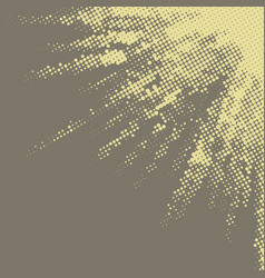 abstract retro background with halftone texture vector image