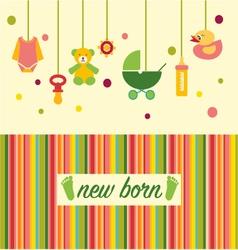 baby shower design 38 vector image