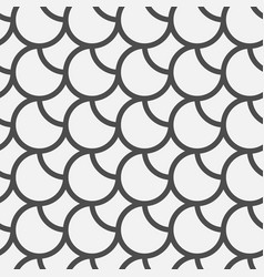 Black circles pattern vector