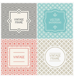 graphic design templates vector image