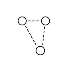 Molecular triangle vector