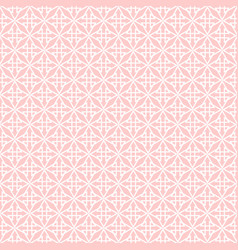 tile pattern with pink and white print vector image vector image