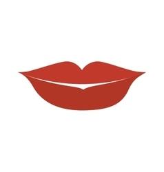 Mouth lips cartoon vector