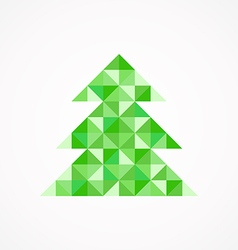 Christmas tree8 vector image
