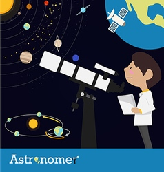 Astronomer occupation vector