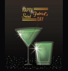Saint patricks day card vector