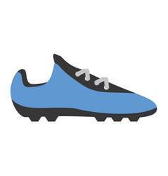 Soccer shoes footwear vector