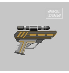 Video game weapon Virtual reality device vector image vector image