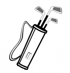 golf equipment vector image