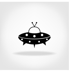 Ufo icon ufo flying saucer vector