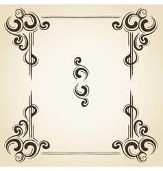Scroll collection 3 vector