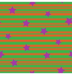 Line and star seamless pattern 7107 vector image