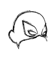 Mask for face character super hero in the style of vector