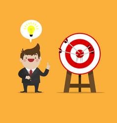 success idea of business vector image