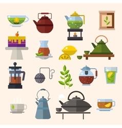 Tea ceremony concept vector