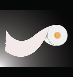 Toilet paper roll vector