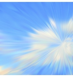 Cloudy blue sky vector