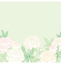 peon background green vector image vector image
