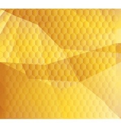 Honeycomb background design te vector