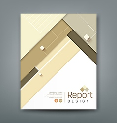 Cover report abstract material triangle colorful vector