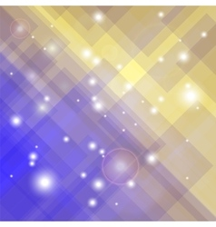 Abstract elegant blue yellow background vector