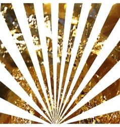 Abstract gold glitter background sparkles and vector