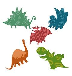 Baby dinosaurus vector