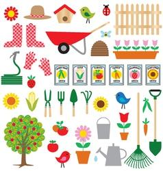 gardening clipart vector image