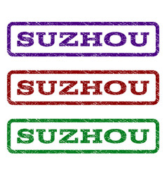 Suzhou watermark stamp vector